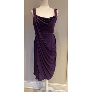 Jovani Purple Cocktail Dress